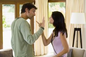 Austin divorce attorney - Couple Arguing