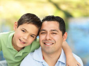 Austin Child Custody Attorney - father and son