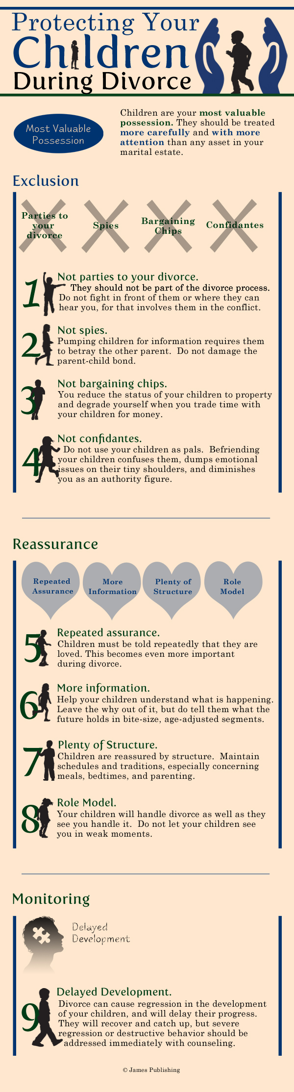 Austin Divorce Lawyers - Protecting Your Child Infographic